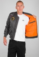 BOMBER GRIS ALPHA INDUSTRIES MA-1 AIR FORCE