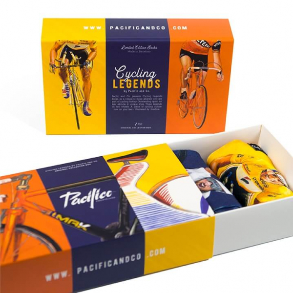 CAJA REGALO CYCLING LEGENDS (Gift box X3)