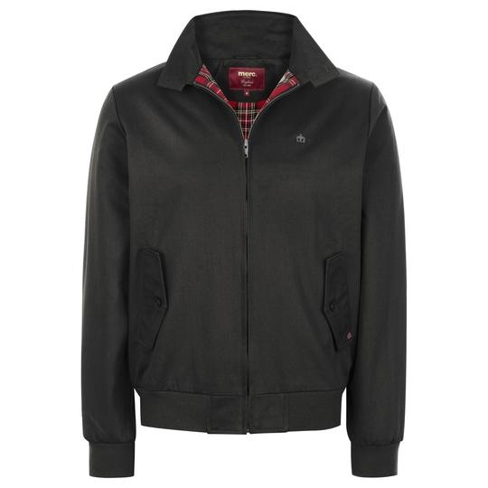 CAZADORA NEGRA MERC LONDON HARRINGTON JACKET