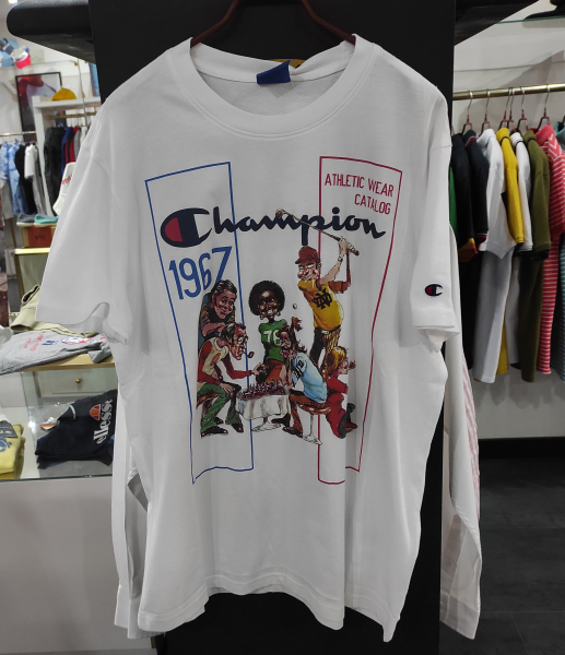 CAMISETA CHAMPION VINTAGE OLD SCHOOL