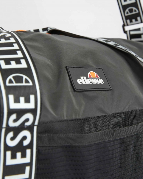 BOLSA GYM ELLESSE VELLETI BARREL BAG BLACK SAAC1051