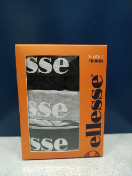 BOXER ELLESSE HALI TRUNKS (packs de tres)