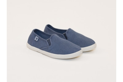SLIP-ON DUSTY BLUE NIÑO WALK IN PITAS
