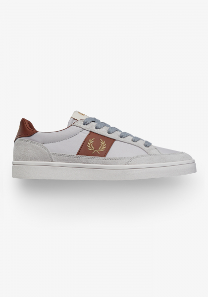 ZAPATILLA FRED PERRY DEUCE POLY/SUEDE LTH DOLPHIN